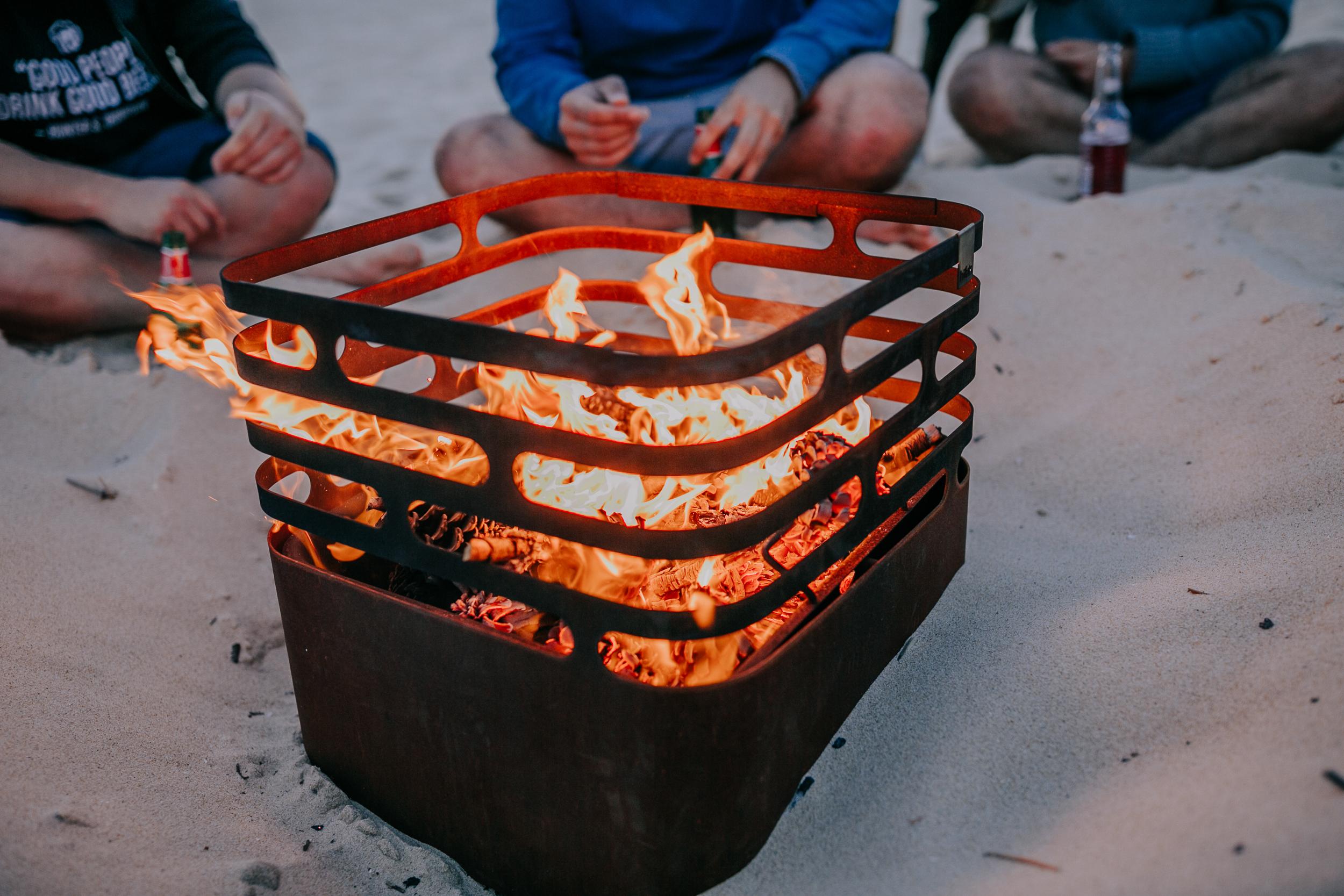 Cube Firepit